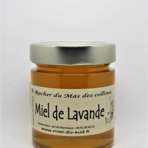 Miel de Lavande pot 250g - Origine France