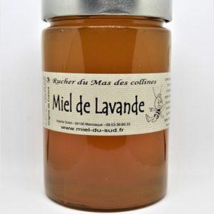 Miel de Lavande origine France en pot 800g