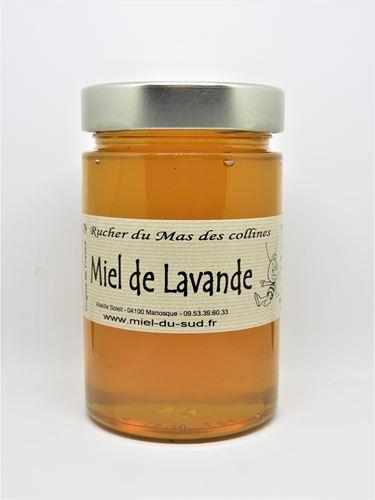 Miel de Lavande pot 440g - Origine France